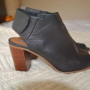 fd836c65547 Steve Madden Shoes - Steve Madden Nonstp Bootie Heel Peep Toe Mule 7.5